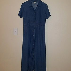 Talbots Vintage Denim Dress